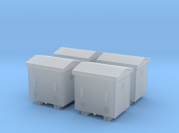 TJ-H04652x4 - Caisses à piles acier galvanisé peti in Smooth Fine Detail Plastic