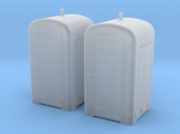 TJ-H04655x2 -  Guérites de signalisation en béton  in Smooth Fine Detail Plastic