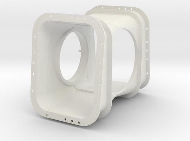 1.3 ARTOUSTE TURBINE FOR SCHOLLNER GIANT LAMA (C) in White Natural Versatile Plastic