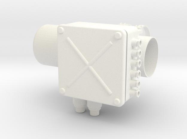 1.3 ARTOUSTE TUBINE FOR SCHOLLNER GIANT LAMA (A) in White Processed Versatile Plastic