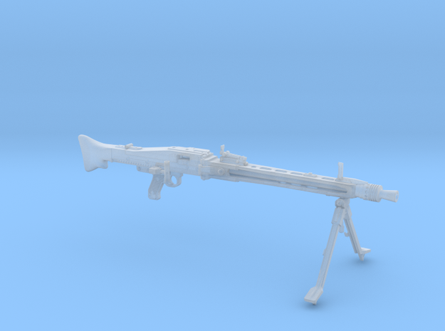 MG42 (1/9 scale) in Smoothest Fine Detail Plastic