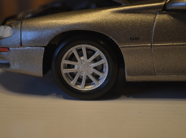 1/25 Scale Monogram/Revell 2002 SS Camaro TenSpoke in Smooth Fine Detail Plastic