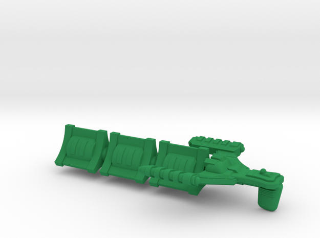 D'Spense Class Transport - 1:7000 in Green Processed Versatile Plastic
