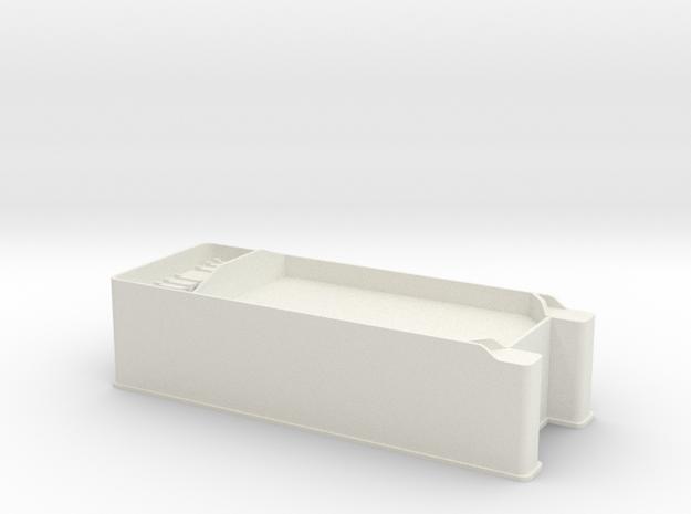 S Scale PRR E6 Tender in White Natural Versatile Plastic