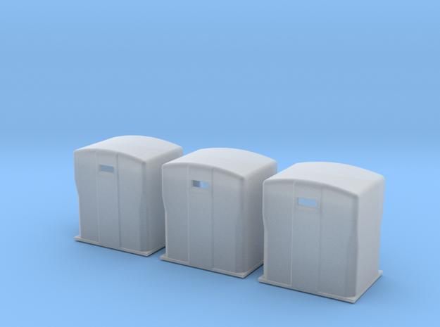 TJ-H01119x3 - Bennes à papier in Smooth Fine Detail Plastic