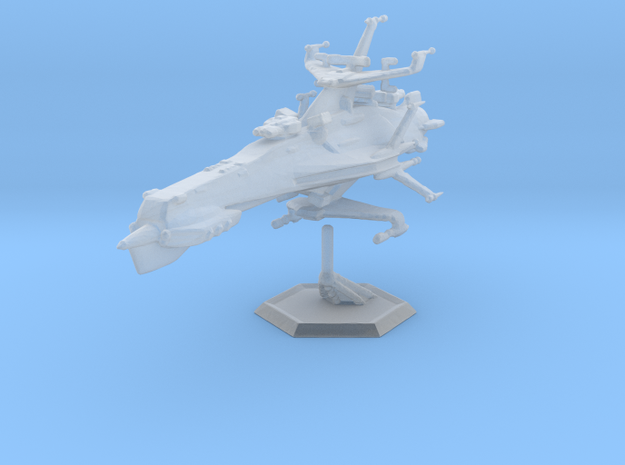 Star Sailers - Warren Patrol Cruiser 001 in Smooth Fine Detail Plastic