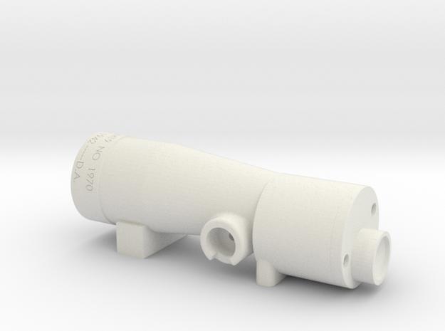 M19 Scope in White Natural Versatile Plastic