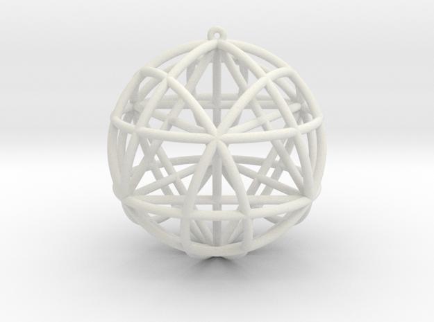 Star Tetrasphere w/nested Star Tetrahedron