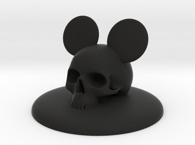 #5 ORNAMENT DEVIL MICKEY COVER  in Black Natural Versatile Plastic
