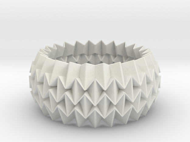 Bracelet WB - Origami Inspired Design