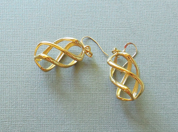 Twisty in 14k Gold Plated