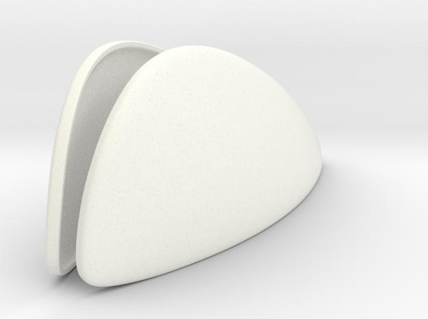Stormtrooper Helmet Lenses in White Processed Versatile Plastic
