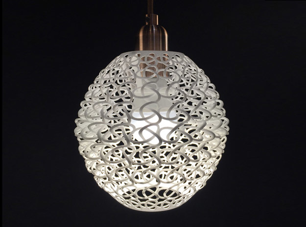 """lampshade """" Torsale"""" in White Strong & Flexible"""