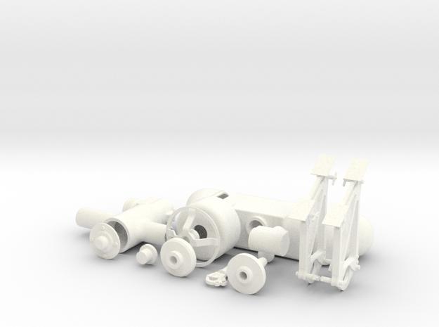 1.6 Treuil EC145 FULL KIT in White Processed Versatile Plastic