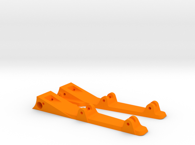 748sr - side pans in Orange Processed Versatile Plastic