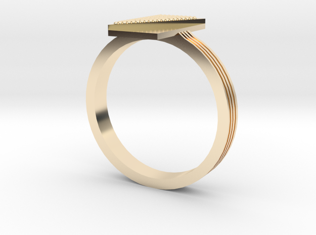 Fashion ring in 14K Gold: 9 / 59