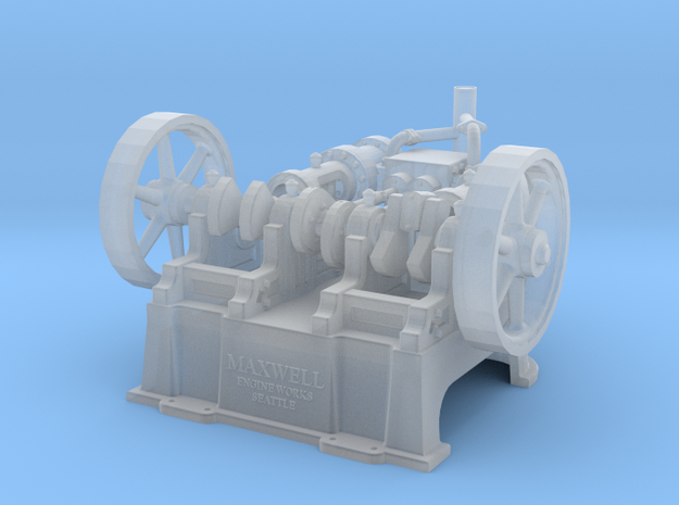 "Maxwell Horizontal 10"" Twin Steam Engine"