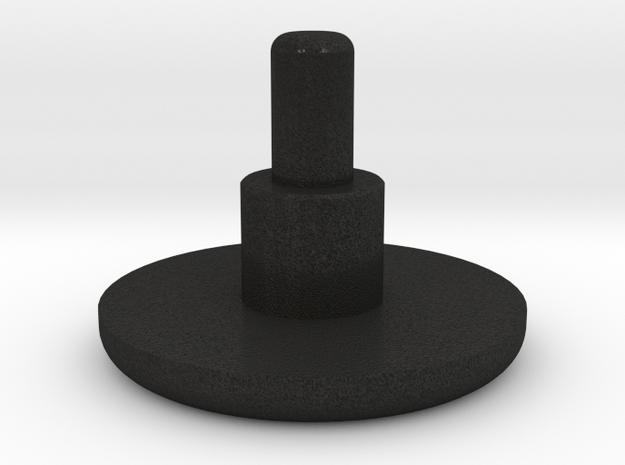 Audi Spinner Pin in Black Acrylic
