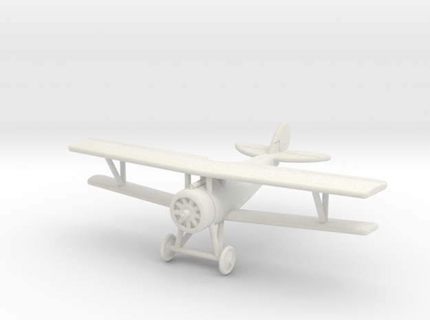GWA07 Nieuport 27 (1/144) in White Natural Versatile Plastic