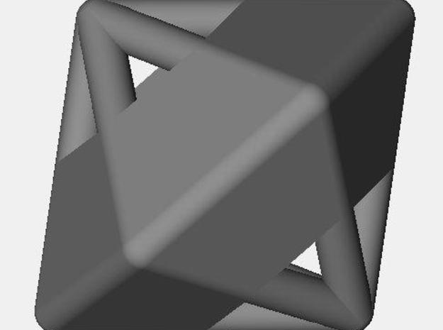 d12 die-pyramid blank 3d printed Description
