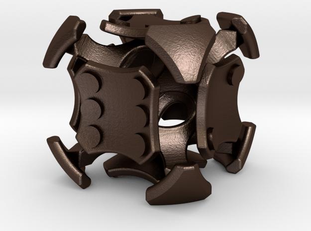 Quantum D6 Pipped in Matte Bronze Steel