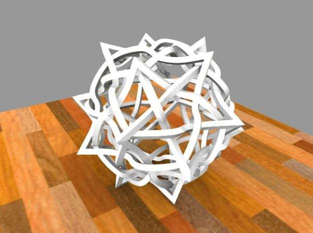 5 twisted cubes 3d printed Description