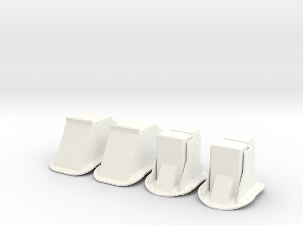 1.8 ACCESSOIRES RESERVOIRS CHINOOK in White Processed Versatile Plastic