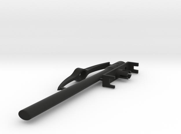 Crawler Scale Pick Axe  in Black Strong & Flexible