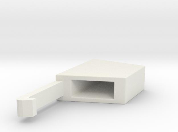 Samsung Spinner Cap in White Natural Versatile Plastic