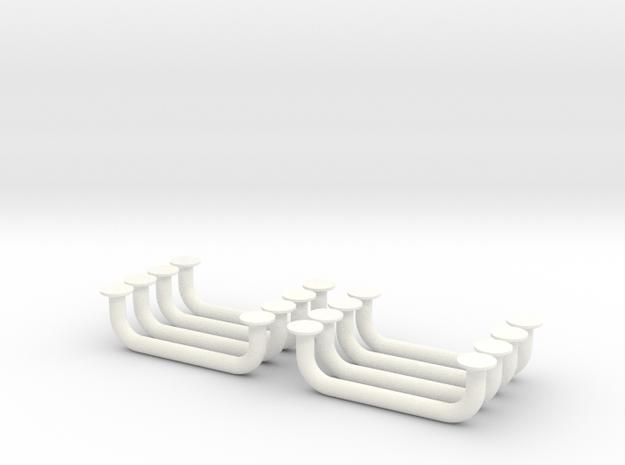 1.10 Poignées De Capots EC in White Processed Versatile Plastic