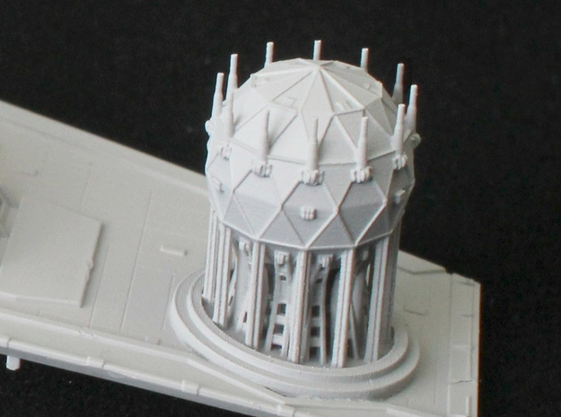 Shield Generator for 1/2700 Zvezda Imperial Class  in Smooth Fine Detail Plastic