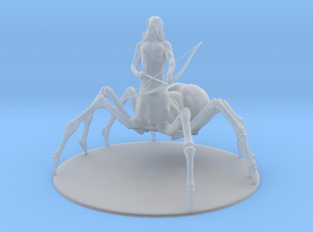 Drider Miniature in Smoothest Fine Detail Plastic: 1:55