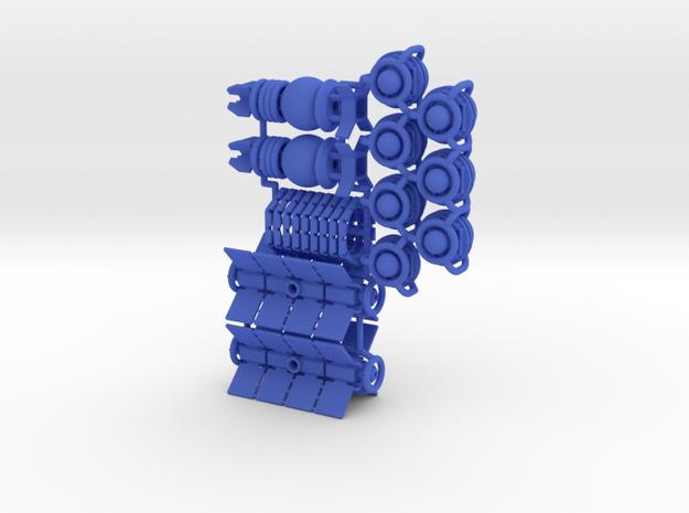 """1-player"" set (26 pcs) - High Frontier in Blue Processed Versatile Plastic"