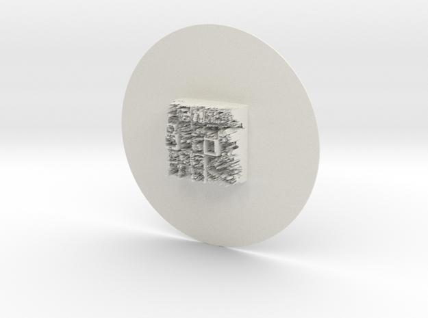 testspinnerversion000000 in White Natural Versatile Plastic