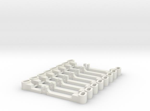 SET BARRES DIRECTION Ouverture in White Natural Versatile Plastic