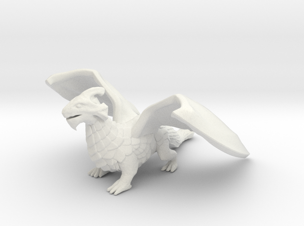 Inquisitive Dragon