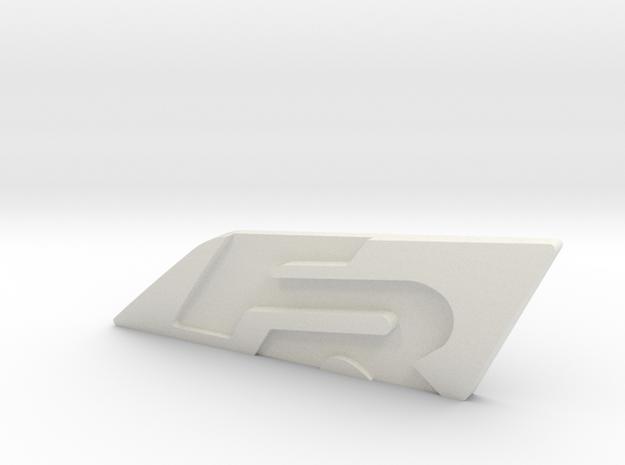 Cupra-Grill (Cupra-Grundplatte) in White Strong & Flexible