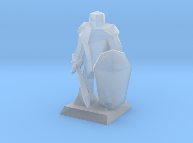Miniature Mini Knight   in Frosted Extreme Detail