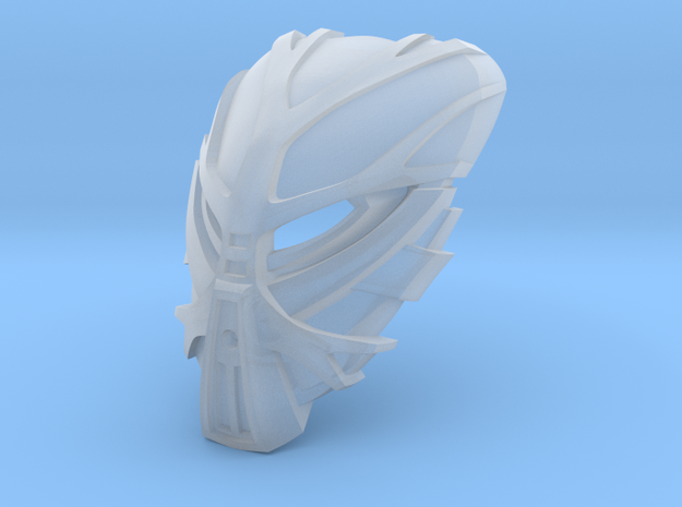 Mask of Growth - Bomonga in Smooth Fine Detail Plastic