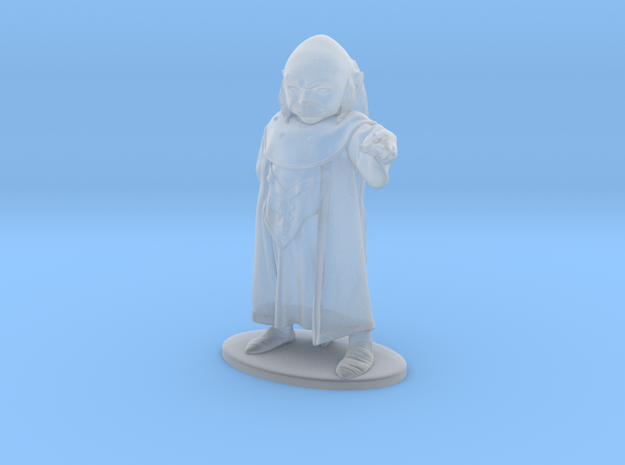 Dungeon Master Miniature in Frosted Ultra Detail: 1:55