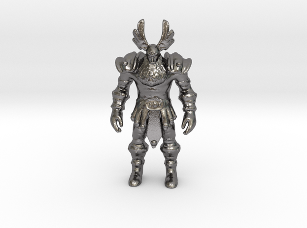 ODYN in Polished Nickel Steel