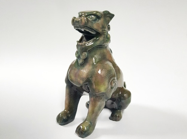 Komainu in Glossy Full Color Sandstone