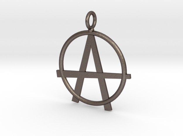 Anarchy necklace in Stainless Steel