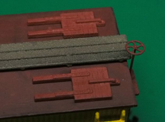 HO scale Reef Hatches (closed) x4