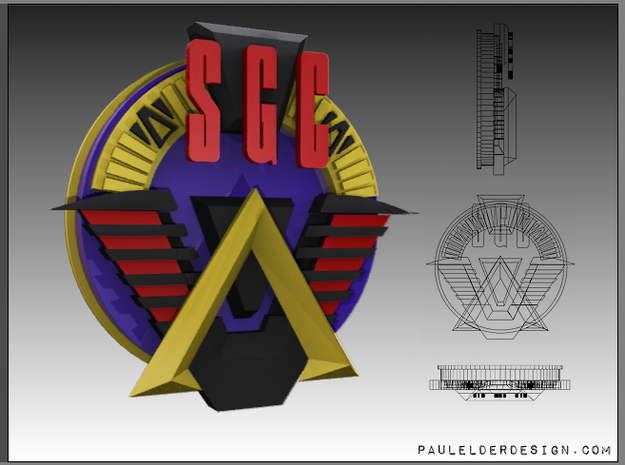 SGC Logo Full Colour in Full Color Sandstone