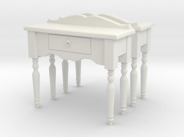 Hall side table 01. O Scale (1:48)