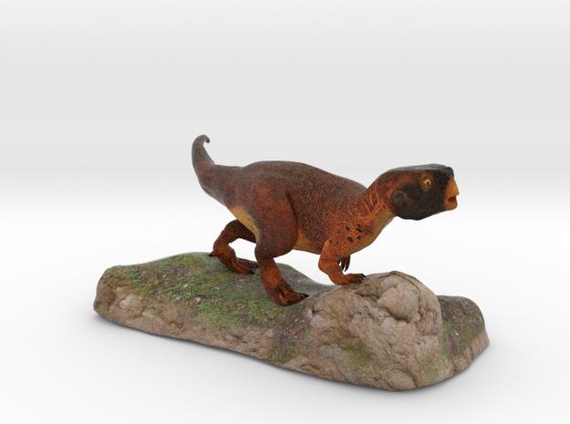 Psittacosaurus sculpture