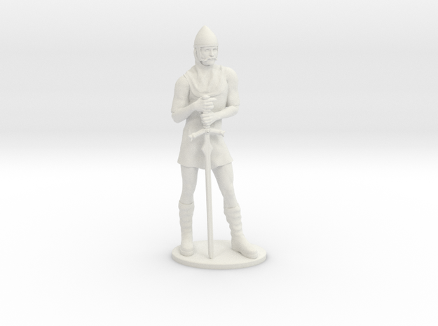 Human Fighter Miniature