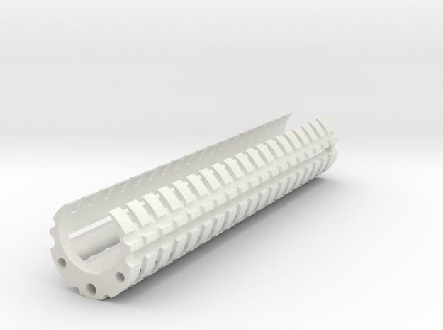 DVC Tac&Batt in White Natural Versatile Plastic