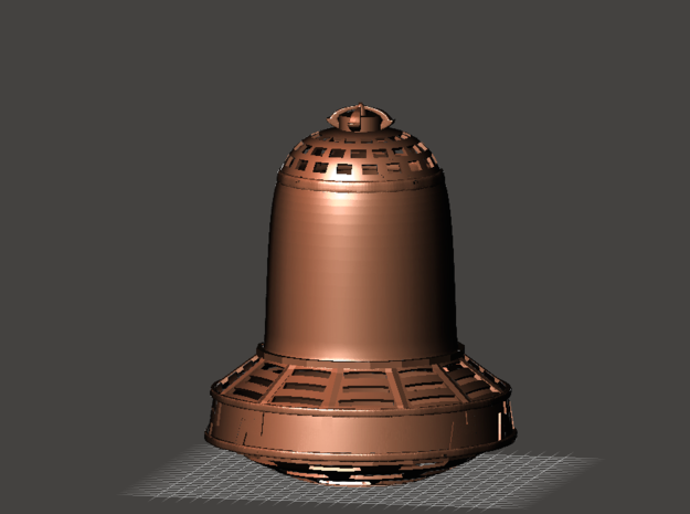 "Die Glocke! (""Hollywood"" version) in White Natural Versatile Plastic: 1:35"